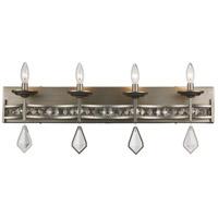 Trans Globe Lighting 70774-ASL Eli 4 Light 31 inch Antique Silver Leaf Vanity Bar Wall Light