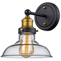 Jackson 1 Light 8 inch Rubbed Oil Bronze Wall Sconce Wall Light
