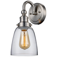 Jennifer 1 Light 6 inch Brushed Nickel Wall Sconce Wall Light