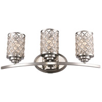 Infusion 3 Light 24 inch Polished Chrome Vanity Bar Wall Light