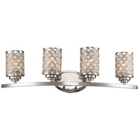 Infusion 4 Light 31 inch Polished Chrome Vanity Bar Wall Light