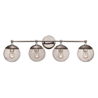 Trans Globe Lighting 71384-PC Riviera 4 Light 32 inch Polished Chrome Vanity Bar Wall Light