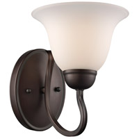 Trans Globe Lighting 8160-1-ROB Glasswood 1 Light 7 inch Rubbed Oil Bronze Wall Sconce Wall Light
