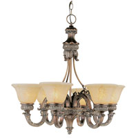 Trans Globe Lighting In The Mediterranean 6 Light Chandelier in Imperial Copper 8526-IC photo thumbnail