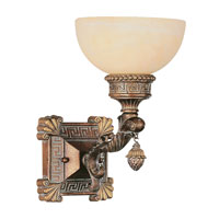 Trans Globe Lighting In The Mediterranean 1 Light Wall Sconce in Lincoln Copper 8530-LC