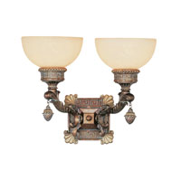 Trans Globe Lighting In The Mediterranean 2 Light Wall Sconce in Lincoln Copper 8531-LC