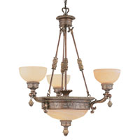 Trans Globe Lighting In The Mediterranean 6 Light Chandelier in Lincoln Copper 8535-LC