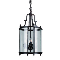 Trans Globe Lighting Signature 3 Light Pendant in Rubbed Oil Bronze 8702-ROB