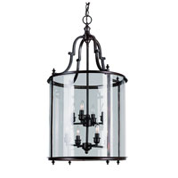 Trans Globe Lighting Signature 8 Light Pendant in Rubbed Oil Bronze 8703-ROB