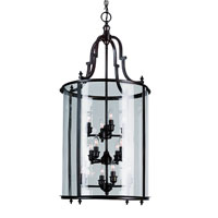 Trans Globe Gothic 12 Light Pendant in Rubbed Oil Bronze 8704-ROB