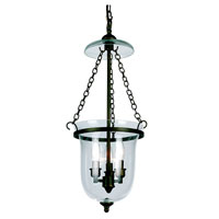 Hurricane 3 Light 12 inch Rubbed Oil Bronze Pendant Ceiling Light