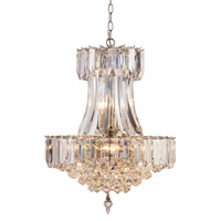Signature 8 Light 19 inch Polished Chrome Pendant Ceiling Light in Acrylic Clear/Beveled