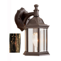 Trans Globe Lighting 4349-BC Templar 1 Light 13 inch Black Copper Outdoor Wall Lantern