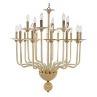 Trans Globe Lighting Versailles 18 Light Chandelier in Gold ATLANTA-18-GL photo thumbnail