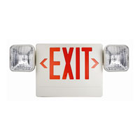 Trans Globe Lighting EXIT-722 Safety Lights LED 10 inch White Safety Light Ceiling Light in 3, Red Plastic photo thumbnail