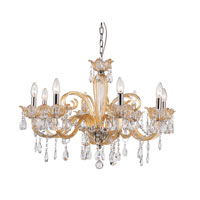 Trans Globe Lighting Versailles 8 Light Chandelier in Champagne HG-8-CHMP photo thumbnail