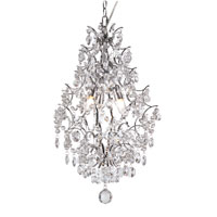 Trans Globe Lighting Versailles 3 Light Pendant in Silver HH-1-PC