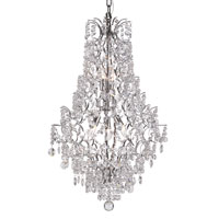 Trans Globe Lighting Versailles 5 Light Chandelier in Silver HH-5-PC