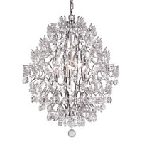 Trans Globe Lighting Versailles 6 Light Chandelier in Silver HH-6-PC