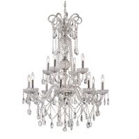 Trans Globe Signature 12 Light Chandelier in Polished Chrome HL-12-PC