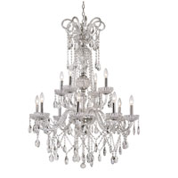 Trans Globe Lighting Versailles 12 Light Chandelier in Polished Chrome HL-12-PC