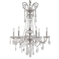 Trans Globe Signature 6 Light Chandelier in Polished Chrome HL-6-PC
