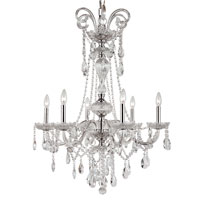 Trans Globe Lighting Versailles 6 Light Chandelier in Silver HL-6-PC