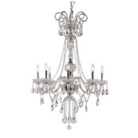 Trans Globe Lighting Versailles 8 Light Chandelier in Silver HL-8-PC
