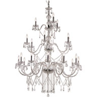 Trans Globe Signature 21 Light Chandelier in Polished Chrome HU-21-PC