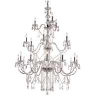 Trans Globe Lighting Versailles 21 Light Chandelier in Silver HU-21-PC