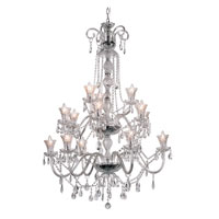 Trans Globe HX 15 Light Chandelier in Polished Chrome HX-15-PC