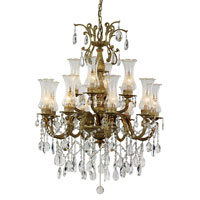 Trans Globe Lighting Signature 12 Light Chandelier in Copper JA-12-BGO