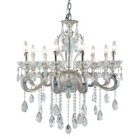 Trans Globe Helios 8 Light Chandelier in Silver JB-8-SL