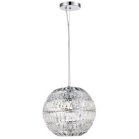 Ellis 5 Light 20 inch Polished Chrome Pendant Ceiling Light