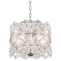 Tangier 4 Light 14 inch Polished Chrome Pendant Ceiling Light