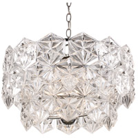 Tangier 4 Light 19 inch Polished Chrome Pendant Ceiling Light