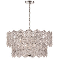 Tangier 6 Light 24 inch Polished Chrome Pendant Ceiling Light