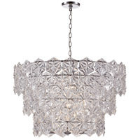 Tangier 9 Light 30 inch Polished Chrome Pendant Ceiling Light