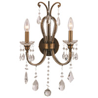 Juglans 2 Light 13 inch Antique Gold Wall Sconce Wall Light