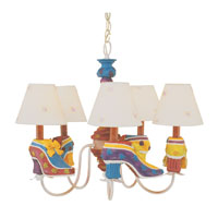 Trans Globe Lighting Kids Korner 5 Light Chandelier KDL-220 photo thumbnail