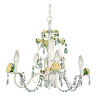 Trans Globe Lighting Kids Korner 4 Light Chandelier in Yellow KDL-701-YLW photo thumbnail