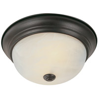 Browns LED 13 inch Rubbed Oil Bronze Flush Mount Ceiling Light
