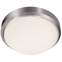 Trans Globe Lighting LED-13880-BN Bliss LED 11 inch Brushed Nickel Flushmount Ceiling Light