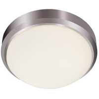 Trans Globe Lighting LED-13881-BN Bliss LED 13 inch Brushed Nickel Flushmount Ceiling Light
