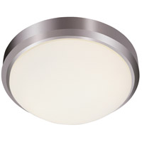 Trans Globe Lighting LED-13882-BN Bliss LED 15 inch Brushed Nickel Flushmount Ceiling Light