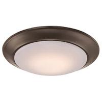 Trans Globe Lighting LED-30015-ROB Vanowen LED 6 inch Rubbed Oil Bronze Flushmount Ceiling Light
