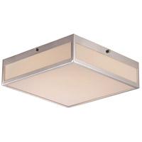 Trans Globe Lighting LED-30066-PC Montgomery LED 12 inch Polished Chrome LED Flushmount Ceiling Light