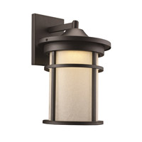Avalon LED 15 inch Black Outdoor Wall Lantern