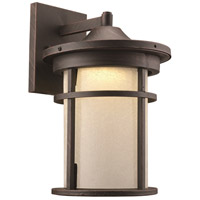 Avalon LED 15 inch Rust Outdoor Wall Lantern
