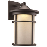 Avalon LED 18 inch Black Outdoor Wall Lantern